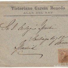 Sellos: SOBRE : SELLO 219. ALAR DEL REY A MADRID. 1900.. Lote 76938753
