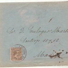 Sellos: SOBRE : SELLO 219. SANTO DOMINGO DE LA CALZADA-LOGROÑO A MADRID. 1900.. Lote 76939657