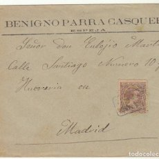 Sellos: SOBRE : SELLO 219. ESPEJA-SALAMANCA A MADRID. 1899.. Lote 76940565