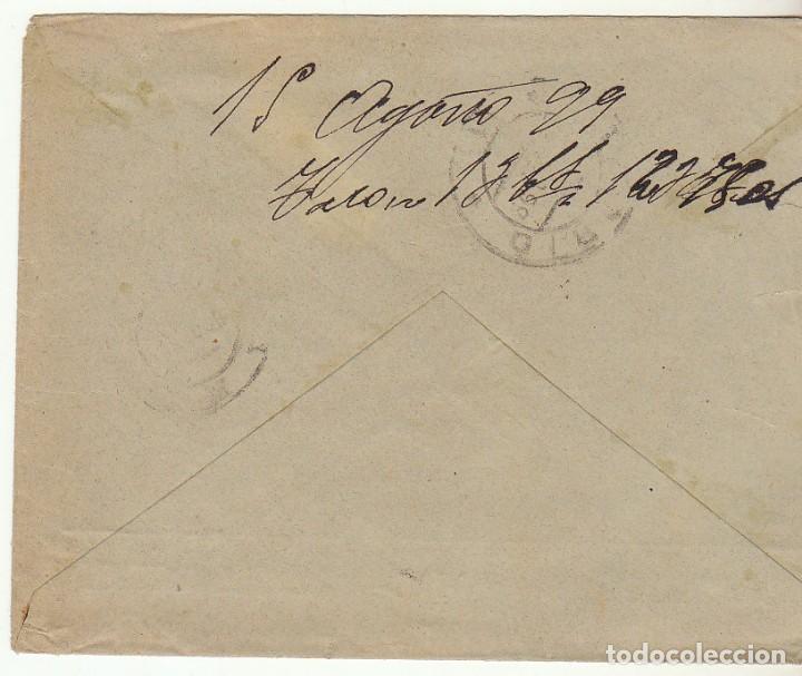 Sellos: SOBRE : Sello 219. ESPEJA-SALAMANCA a MADRID. 1899. - Foto 2 - 76940565