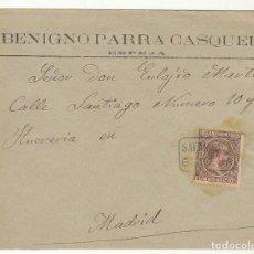 Sellos: SOBRE : SELLO 219. ESPEJA-SALAMANCA A MADRID. 1899.. Lote 76940841