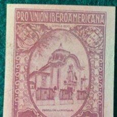 Sellos: AÑO 1930. PRO UNIÓN IBEROAMERICANA. Nº 579 CCAS. Lote 77834425