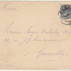 Sellos: SELLO 221 : BILBAO A GRENOBLE (FRANCIA). 1893. (CLUB NÁUTICO DE BILBAO). Lote 78216169