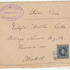 Sellos: SOBRE : SELLO 246. ESPEJA-SALAMANCA A MADRID. 1902. Lote 78311505