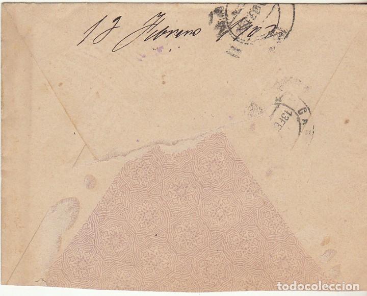 Sellos: SOBRE : Sello 246. ESPEJA-SALAMANCA a MADRID. 1902 - Foto 2 - 78311505