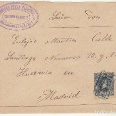 Sellos: SOBRE : SELLO 246. ESPEJA-SALAMANCA A MADRID. 1901.. Lote 78311713