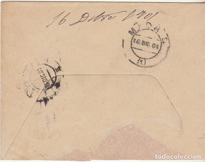Sellos: SOBRE : Sello 246. ESPEJA-SALAMANCA a MADRID. 1901. - Foto 2 - 78311713