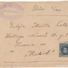 Sellos: SOBRE : SELLO 246. ESPEJA-SALAMANCA A MADRID. 1902.. Lote 78312037