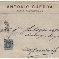 Sellos: SOBRE : SELLO 246. ESPEJA-SALAMANCA A MADRID. 1902.. Lote 78312289