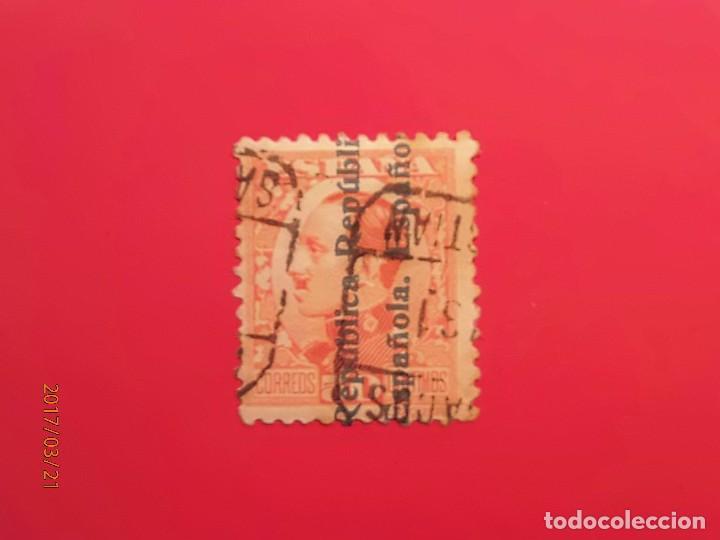 1931 - ALFONSO XIII SOBRECARGADOS - EDIFIL 601 (Sellos - España - Alfonso XIII de 1.886 a 1.931 - Usados)