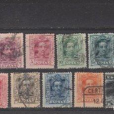 Sellos: ESPAÑA 1922 - LOTE DE 11 SELLOS ALFONSO XIII - USADOS. Lote 85204436