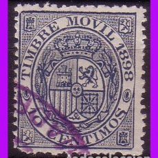 Sellos: FISCALES, 1898 TIMBRE MÓVIL ALEMANY Nº 52 (O) . Lote 87457152