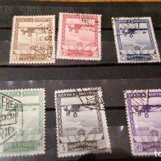 Sellos: SERIE COMPLETA 1929 EN USADO N 448/53. Lote 87736888