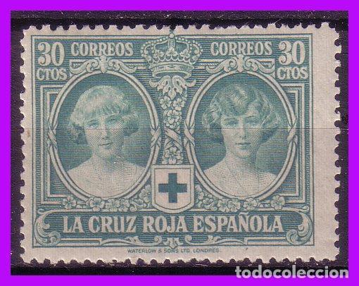 1926 PRO CRUZ ROJA ESPAÑOLA, EDIFIL Nº 332 * (Sellos - España - Alfonso XIII de 1.886 a 1.931 - Nuevos)