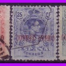 Sellos: 1920 ALFONSO XIII, AÉREOS EDIFIL Nº 292 A 296 (O) SERIE COMPLETA. Lote 88350524