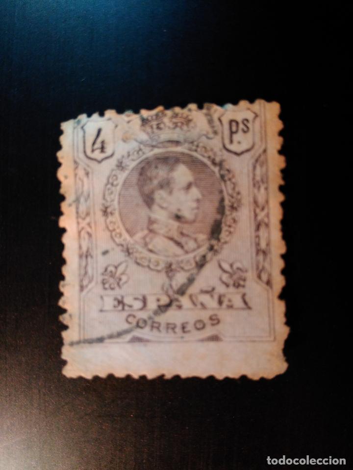 ALFONSO XIII. MEDALLÓN LITOGRAFIADO. EDIFIL 279. (Sellos - España - Alfonso XIII de 1.886 a 1.931 - Usados)