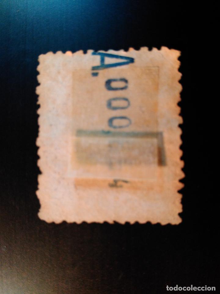 Sellos: Alfonso XIII. Medallón Litografiado. Edifil 279. - Foto 2 - 89502812