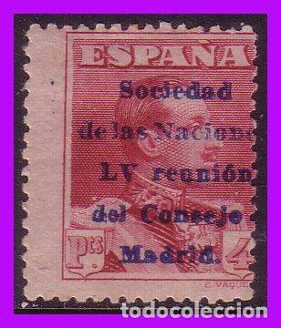1929 SOCIEDAD DE NACIONES, REUNIÓN CONSEJO MADRID, EDIFIL Nº 466 * (Sellos - España - Alfonso XIII de 1.886 a 1.931 - Nuevos)
