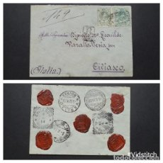 Sellos: ESPAÑA.AÑO 1914.CARTA CIRCULADA.. Lote 95413607
