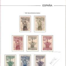 Sellos: 1930.-DESCUBRIMIENTO DE AMERICA -SIN FIJASELLOS NUMS 531-546 ---FALTA EL NUM. 546 (5E) CAT. 232E.. Lote 95481451