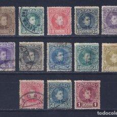 Sellos: EDIFIL 241-253 ALFONSO XIII. TIPO CADETE. 1901-1905.. Lote 97495667