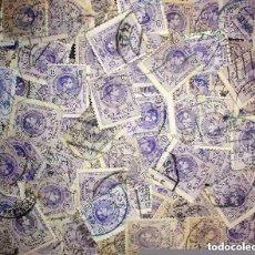 Sellos: LOTE DE 100 SELLOS DE ALFONSO XIII - 15 CENTIMOS. Lote 97589163