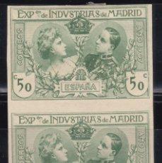 Sellos: 1907 EDIFIL Nº SR 4 SIN DENTAR , MH, . Lote 97741991
