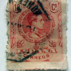 Sellos: SELLO ALFONSO XIII 10 CÉNTIMOS, 1909-1917. Lote 97803287