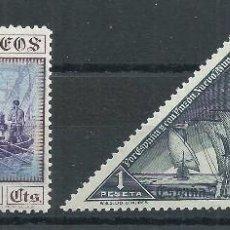 Sellos: R22.G14/ ESPAÑA EDIFIL 542/43, MH *, 1930, (CHARNELA) CATALOGO 29,00€. Lote 101099519