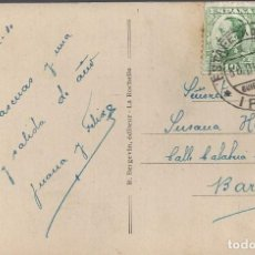 Sellos: POSTAL MATASELLO ESTAFETA CAMBIO IRUN GUIPUZCOA 1930 POSTAL HENDAYA. Lote 101120071