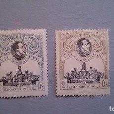Sellos: 1920 - ALFONSO XIII -EDIFIL 297/298 MNH**. VII CONGRESO DE LA UPU (BONITOS) NUEVOS SIN FIJASELLOS.. Lote 101308215