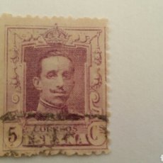 Sellos: SELLO 5 CTS. 1922 ALFONSO XIII.. Lote 101367811