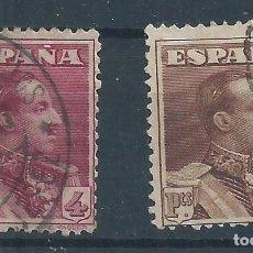 Sellos: R25/ ESPAÑA EDIFIL 322/23, USADOS, ALFONSO XIII, CATALOGO 29,25€. Lote 102413931