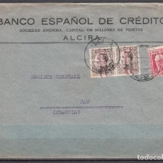 Sellos: CARTA , ALCIRA A PAU FRANCIA , . Lote 104533447