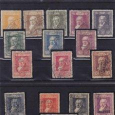 Sellos: ESPAÑA Nº 499/515 USADO AÑO 1930 . QUINTA DE GOYA. MATASELLOS EXPOSICIÓN . MUY BONITA. Lote 106030187