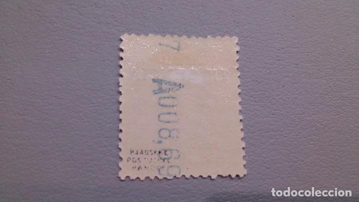 Sellos: 1930 - ALFONSO XIII - EDIFIL 489 - MH* - NUEVO - CENTRADO - PEGASO - MARQUILLADO - LUJO. - Foto 2 - 106934619