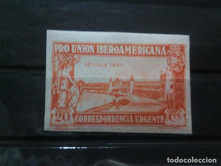 PRO UNION IBEROAMERICANA 20CTMS SIN DENTAR. EDIFIL 582 (*) (Sellos - España - Alfonso XIII de 1.886 a 1.931 - Nuevos)