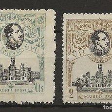 Sellos: R26/ EDIFIL 297/98, MH*, 1920, U.P.U.. Lote 111421591