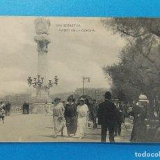 Sellos: ANTIGUA POSTAL , SAN SEBASTIAN - PASEO DE LA CONCHA - .... R-441. Lote 111490059