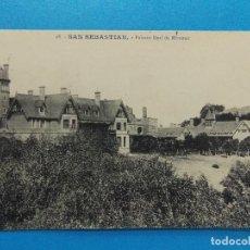 Sellos: ANTIGUA POSTAL DE SAN SEBASTIAN - PALACIO REAL DE MIRAMAR - .... R-8292. Lote 111524303