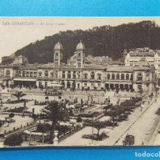 Sellos: ANTIGUA POSTAL DE SAN SEBASTIAN - EL GRAN CASINO - .... R-8296. Lote 111524727