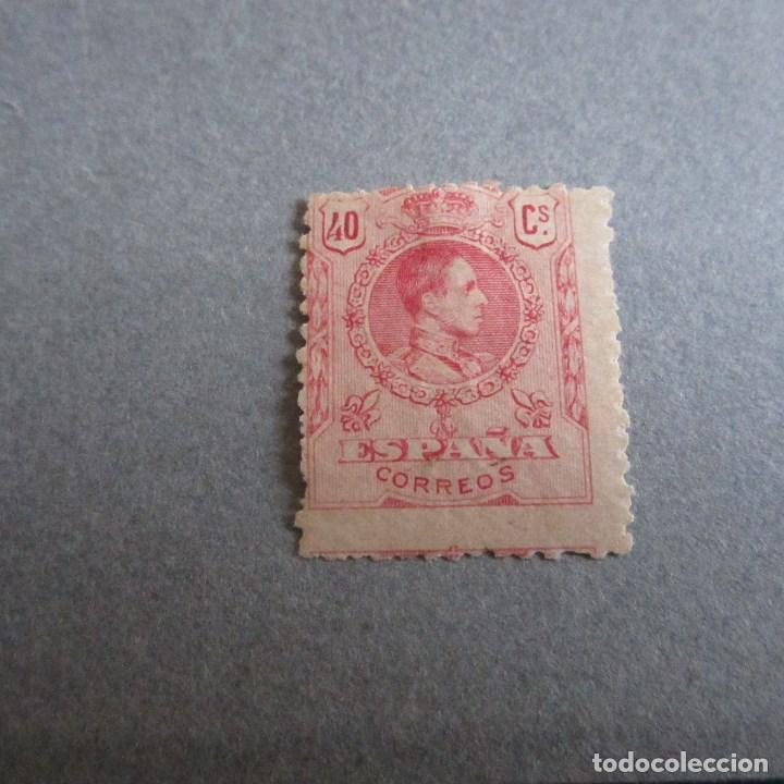 ESPAÑA 1909-1922, ALFONSO XIII, TIPO MEDALLON, EDIFIL Nº 276*, FIJASELLOS (Sellos - España - Alfonso XIII de 1.886 a 1.931 - Nuevos)
