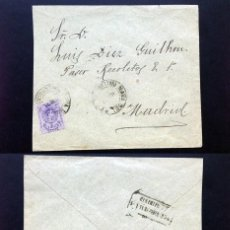 Sellos: ESPAÑA.AÑO 1911.CARTA CIRCULADA.. Lote 113207531