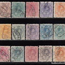 Sellos: ESPAÑA, 1909 - 1922 EDIFIL Nº 267 / 280 , TIPO MEDALLÓN . Lote 114833199