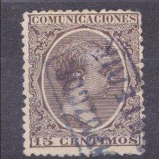 Sellos: CC6-ALFONSO XIII PELÓN MATASELLOS CARTERÍA RENTERÍA GUIPUZCOA. Lote 115042411