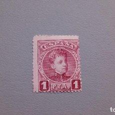 Sellos: 1901-1905 - ALFONSO XIII - EDIFIL 253 - MH* - NUEVO - TIPO CADETE.. Lote 115119675