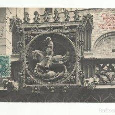 Sellos: POSTAL SANT JORDI CIRCULADA 1907 DE BARCELONA A MARSEILLE FRANCIA VER FOTO. Lote 119194531