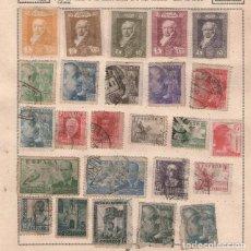 Sellos: SELLO SELLOS DE TODOS LOS PAISES (1900 -1950 ) LOTE MAS DE 70 HOJAS CON SELLOS APORTO FOTOS. Lote 119386211