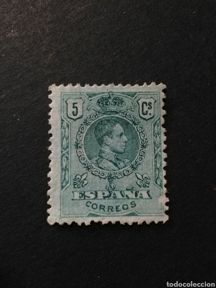 EDIFIL 268. ALFONSO XIII. NUEVO SIN GOMA. (Sellos - España - Alfonso XIII de 1.886 a 1.931 - Nuevos)