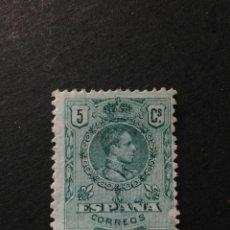 Sellos: EDIFIL 268. ALFONSO XIII. NUEVO SIN GOMA.. Lote 124212706